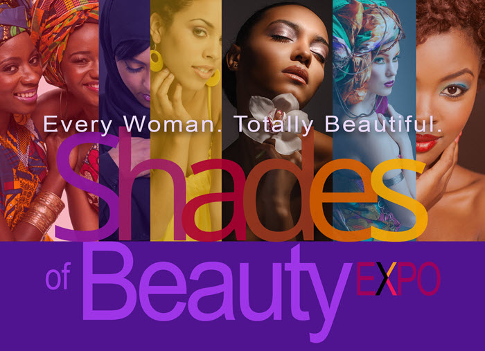 Shades of Beauty Expo banner
