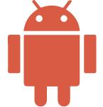 Android orange icon