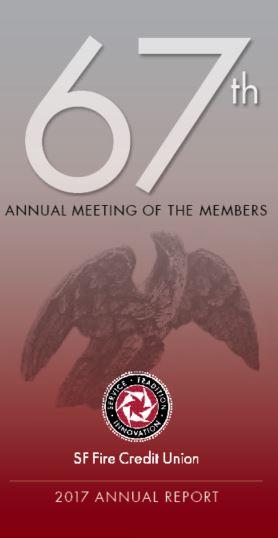 67th Annual Report Cover