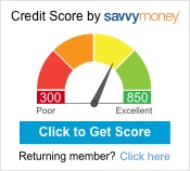 SavvyMoney credit score and credit report