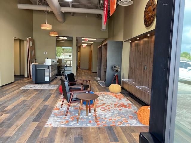 HBU Branch Lounge Area