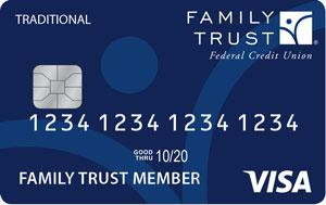 Traditional Visa Card