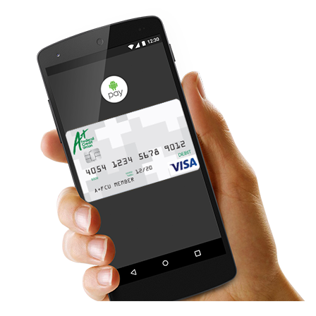 A+FCU with Android Pay