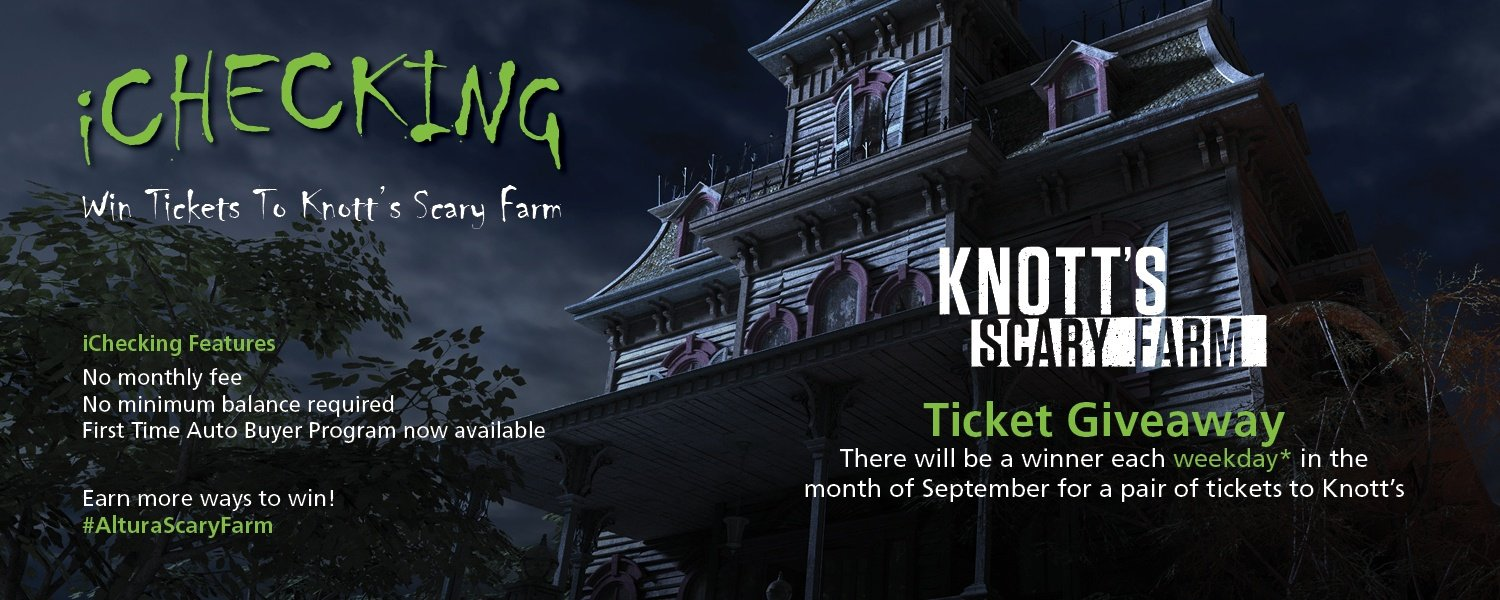 Scary Mansion - iChecking Knott's Scary Farm Giveaway