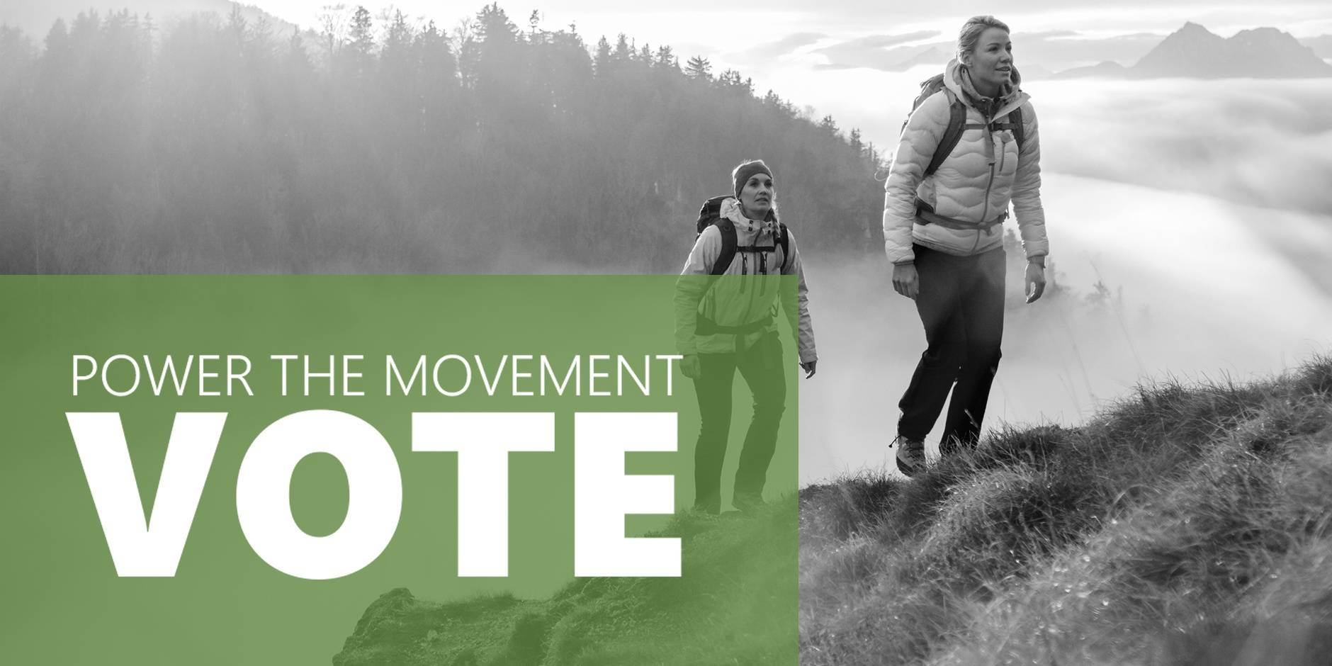 Vote Now and Power the Movement