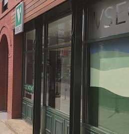 Burlington branch opening article