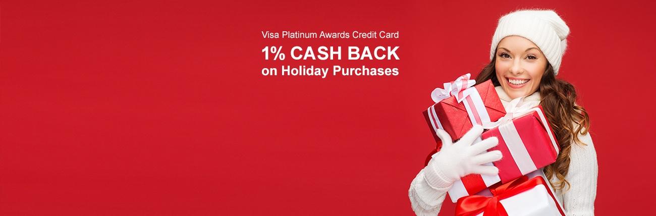 Visa 1% Cash Back