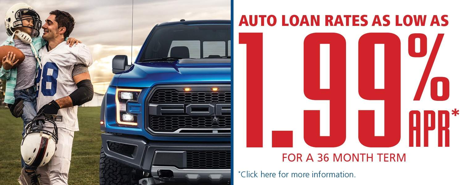Son plays football with father. Auto loans rates low as 1.99%APR. Click here for more info.