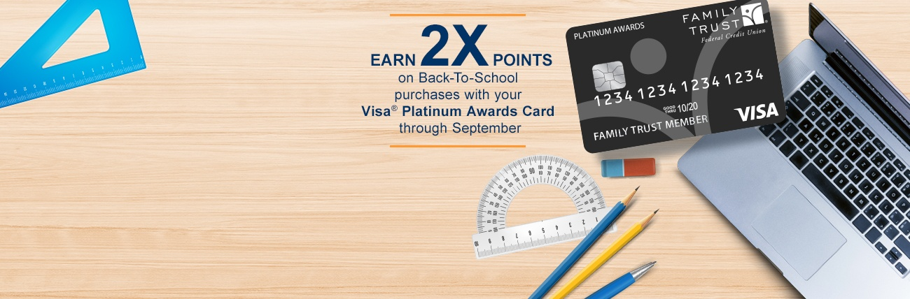 Back-To-School Double Points