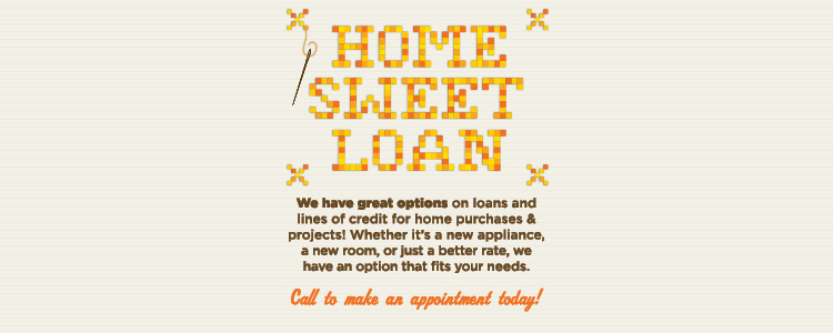 home sweet loan cross stitch
