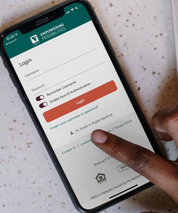 Mobile Banking Tile