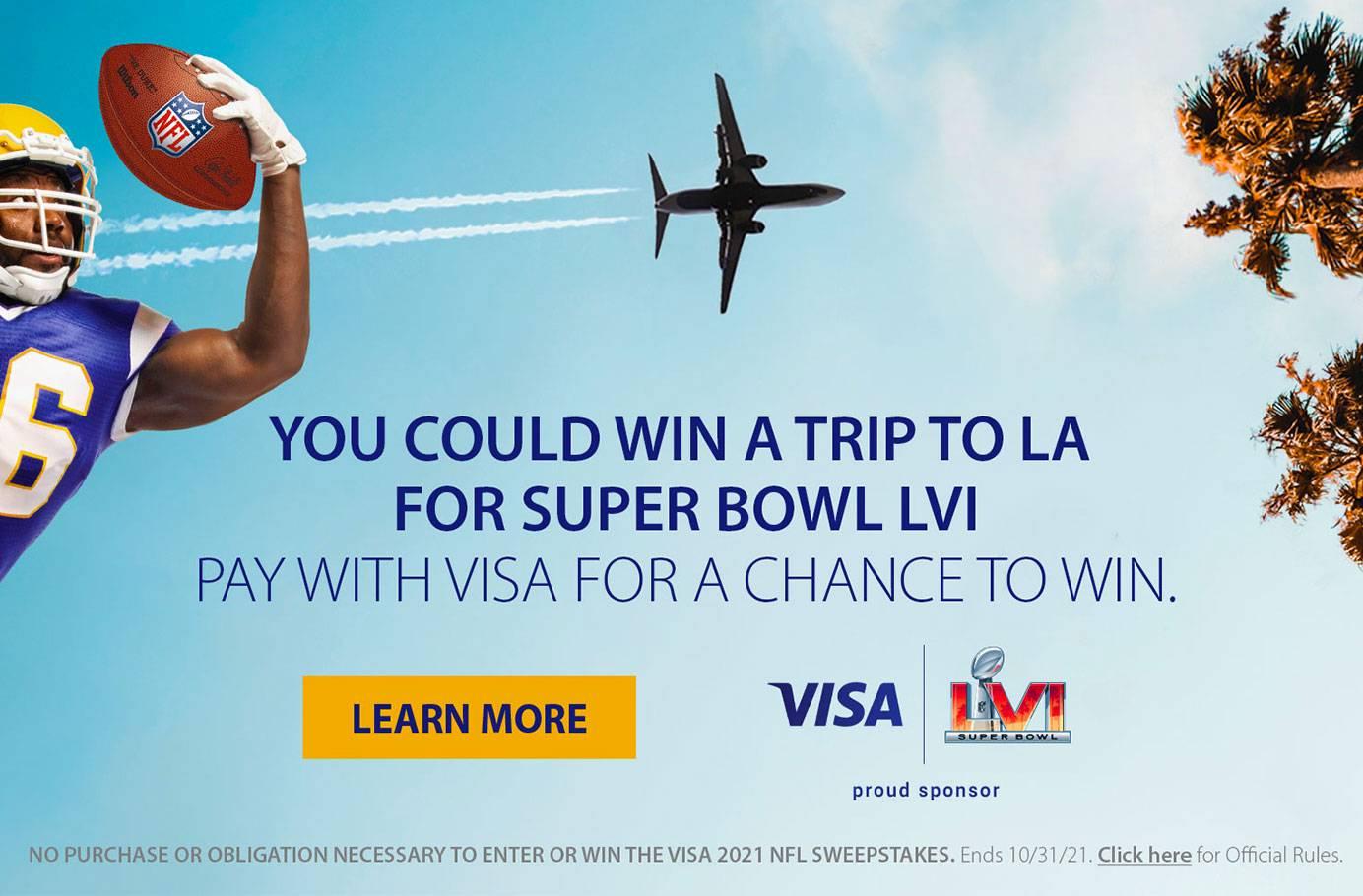 VISA (r) NFL Promotion
