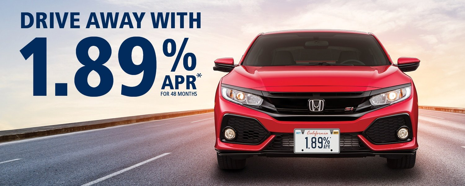 Drive Away with 1.89% apr