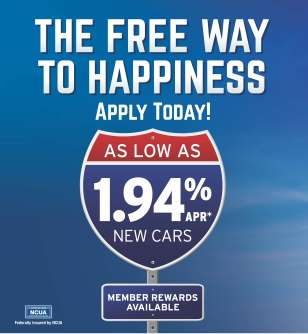 Auto Loan 1.94% APR Web Side Ad