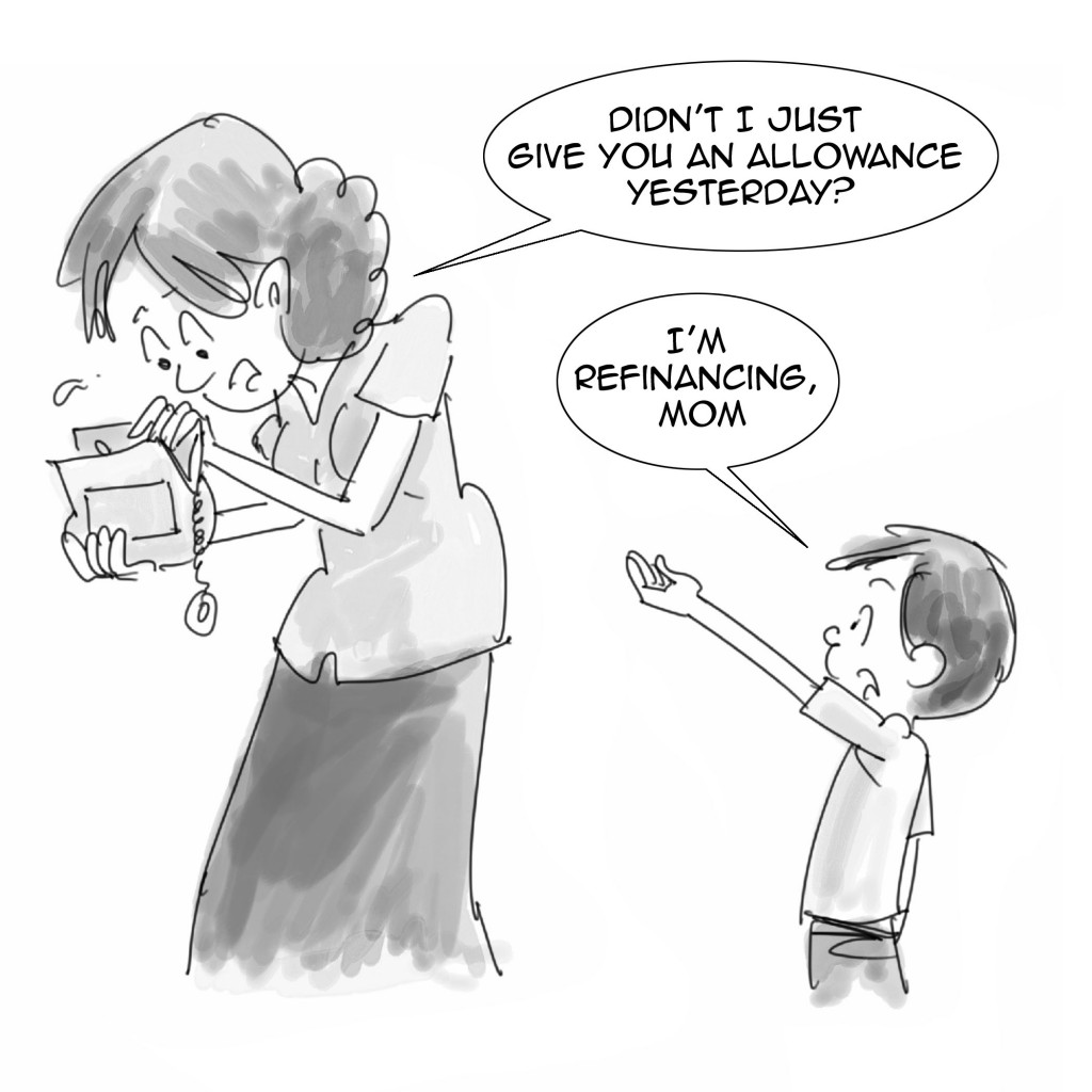 Financial-cartoon refinancing-1024x1024