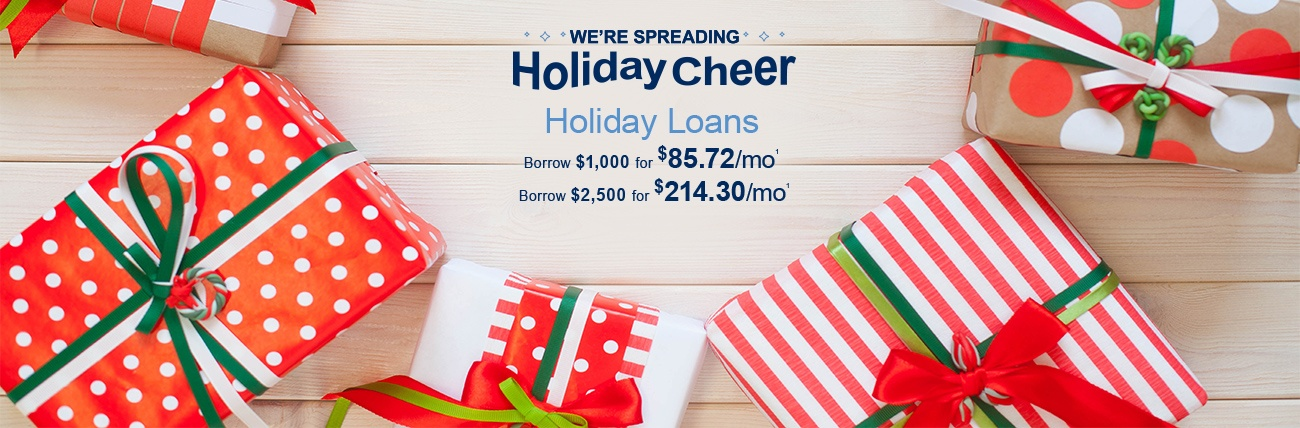Holiday Loan Promotion