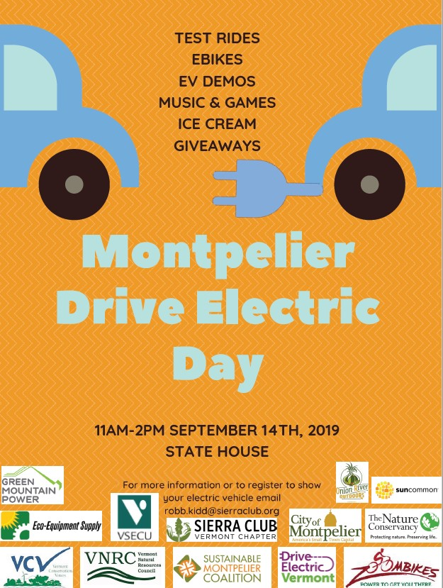 Montpelier electric drive day