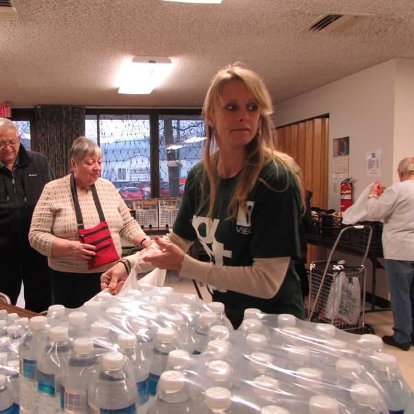 Social Impact Profile Excerpt Image - North Barre Manor Holiday Food Volunteer Day