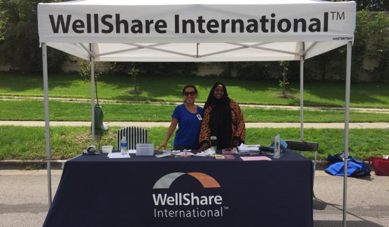 WellShare International table