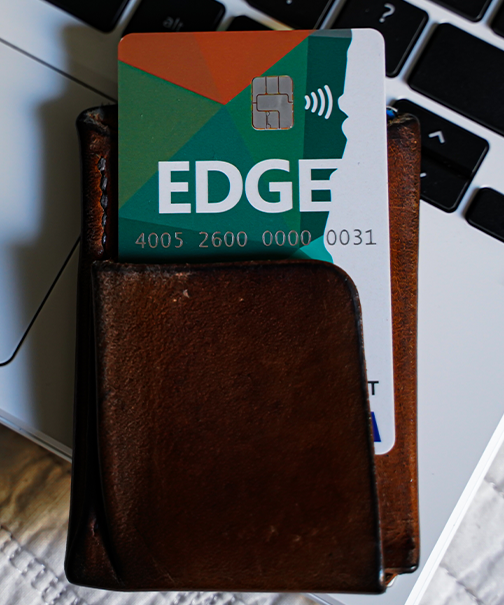 Edge pay homepage tile