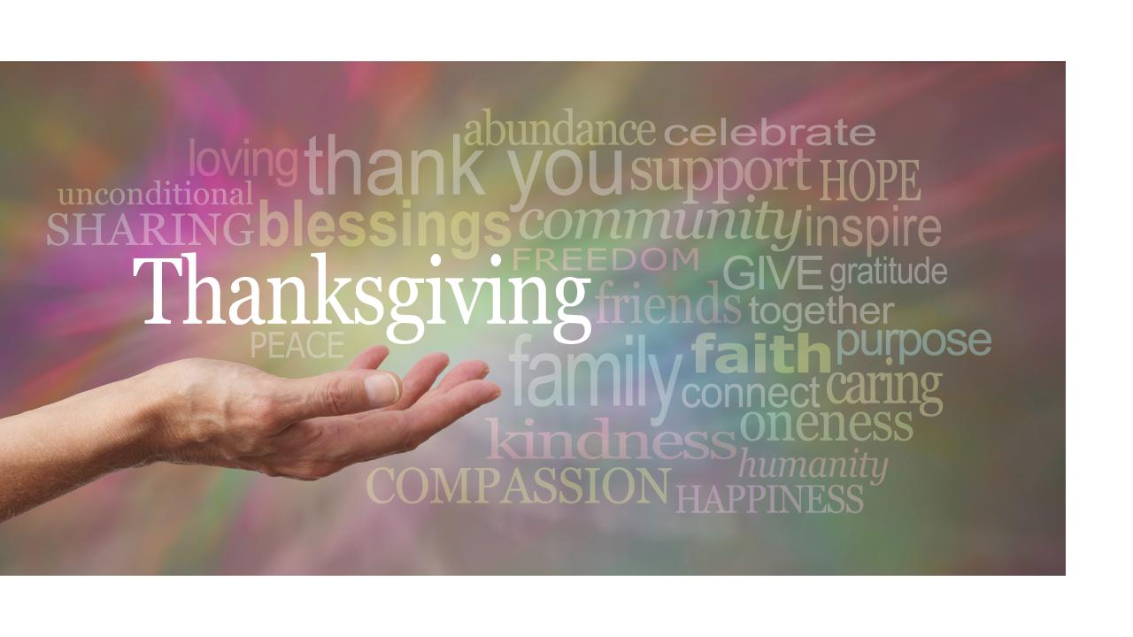 Thanksgiving-reflection