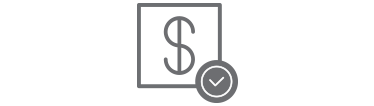 Pay loans icon