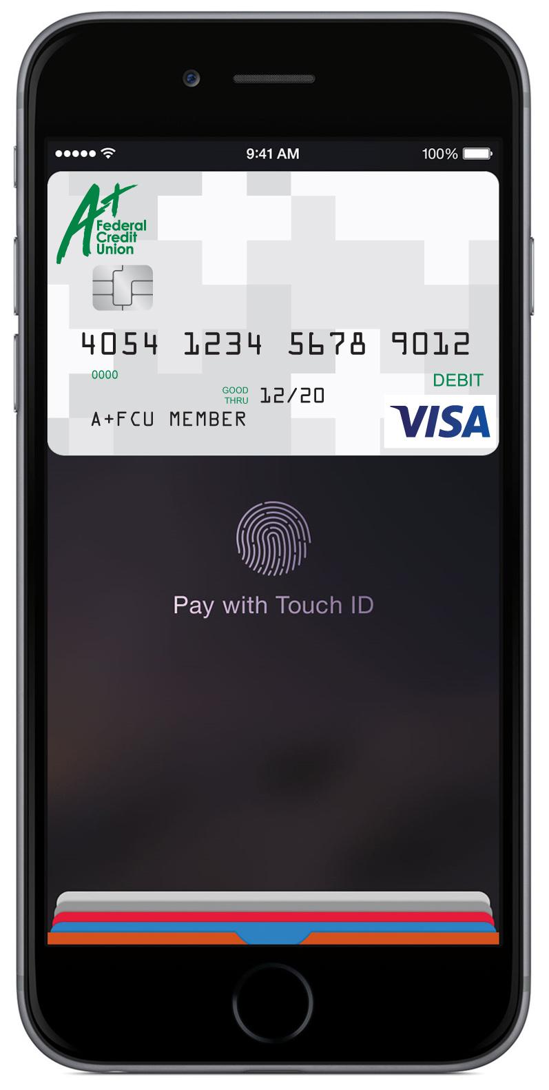A+FCU with Apple Pay