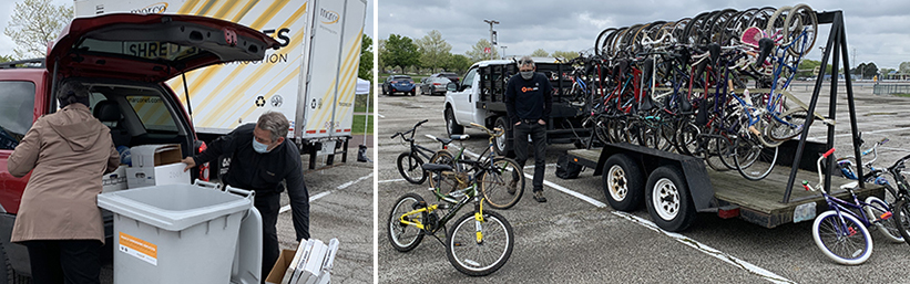 Images from Vantage Shred Event April 2021