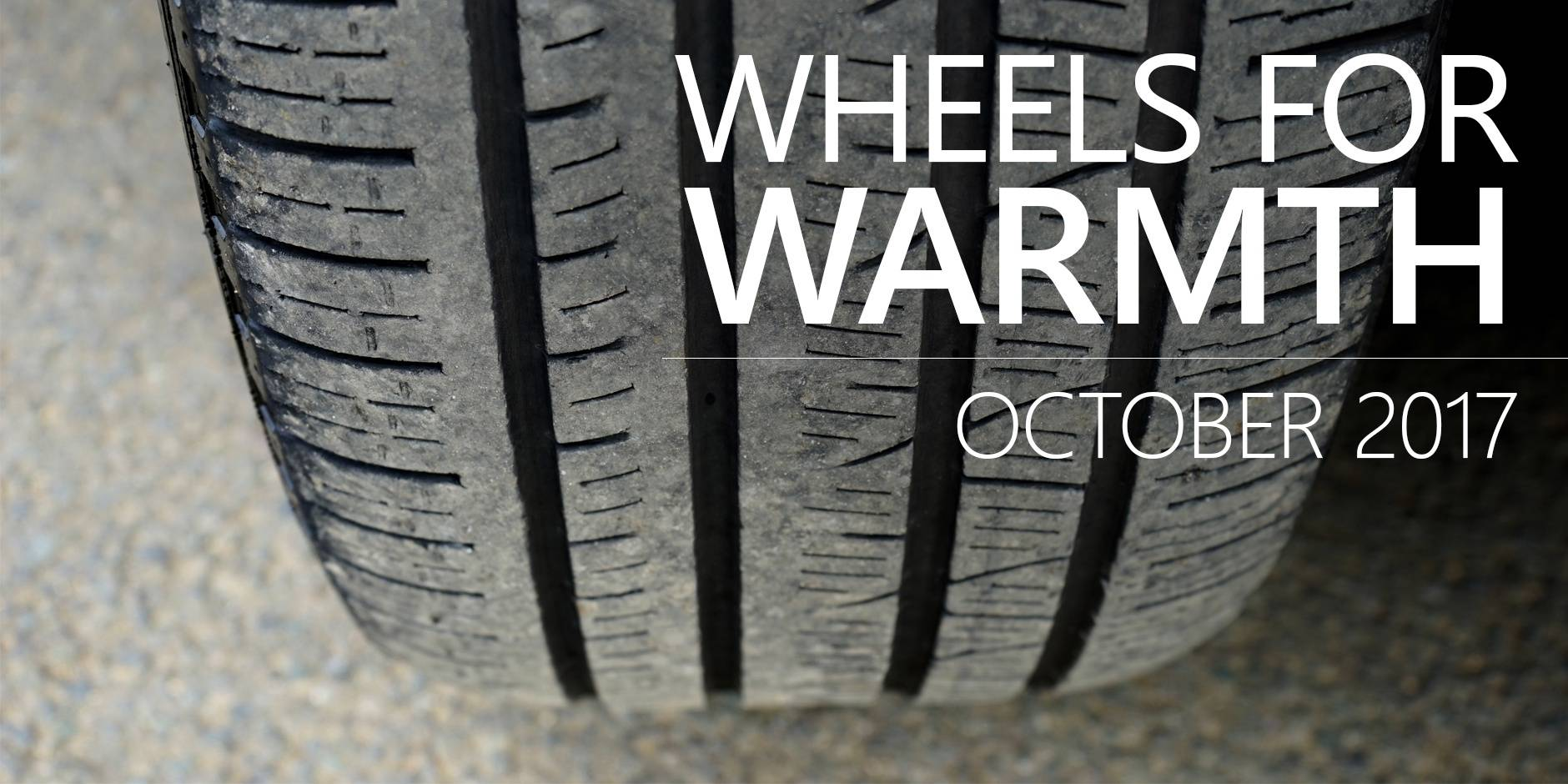 Donate Your Tires in October