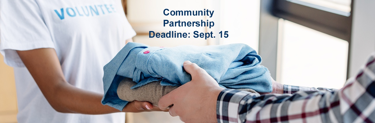 Community Partnership Deadline
