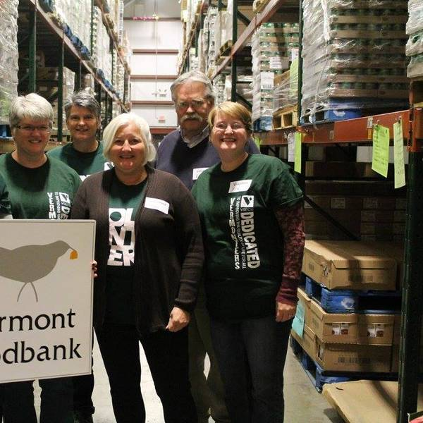 Social Impact Profile Excerpt Image - Volunteer Night at Vermont Foodbank