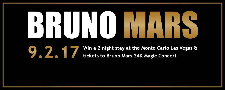 Bruno Mars Banner
