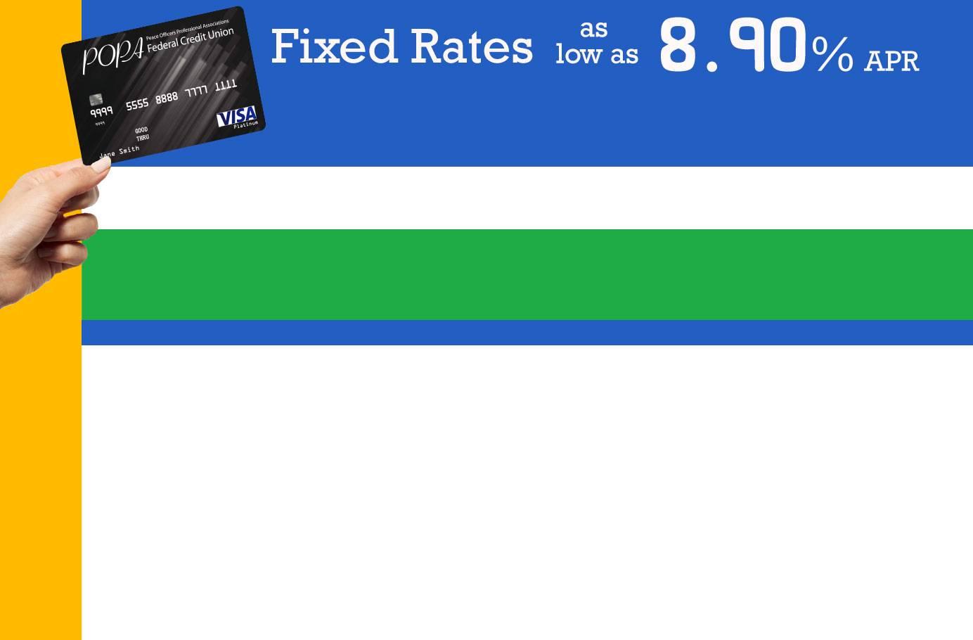VISA(R) Platinum Credit Card