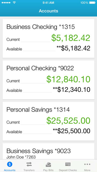 Online Banking App — Industrial Credit Union