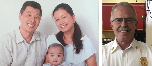 image-of-perry-choy-and-family-left-image-of-chief-terry-smerdel-right